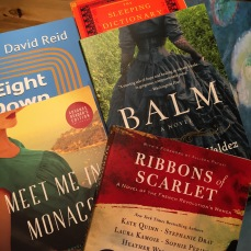 A sample of the books I took home. I guess I've got my summer reading list!